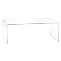 Cb Peekaboo Acrylic Coffee Table The Everymom - Cb2 peekaboo coffee table