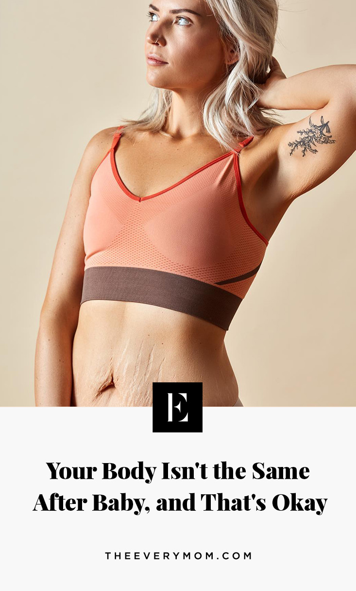 4f972ed11cb25e With my first pregnancy, I heard all the postpartum horror stories of saggy  bellies, extra weight, wider hips, and stretch marks — basically, the fact  that ...