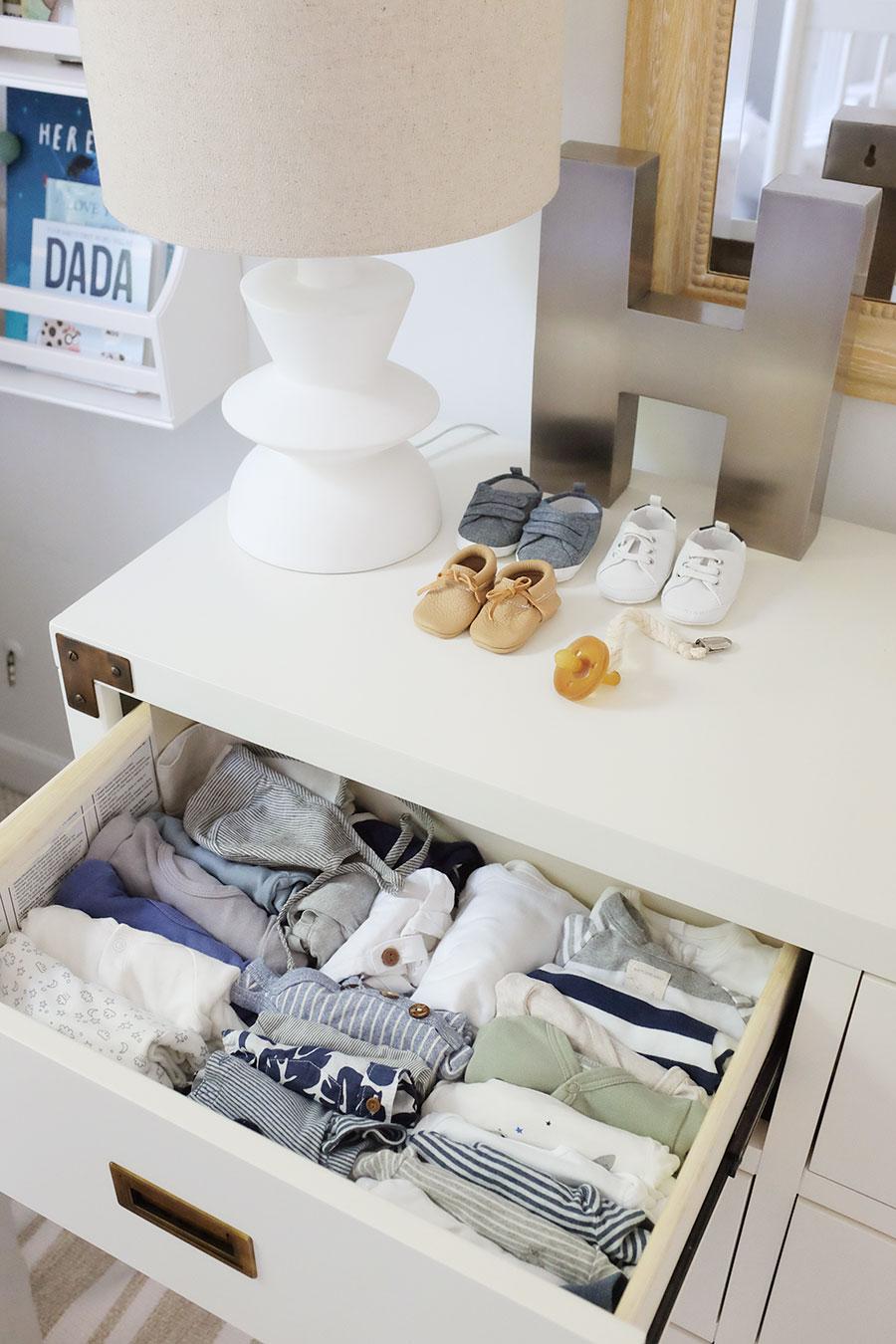 Alaina Kaczmarski Nursery Dresser Organization