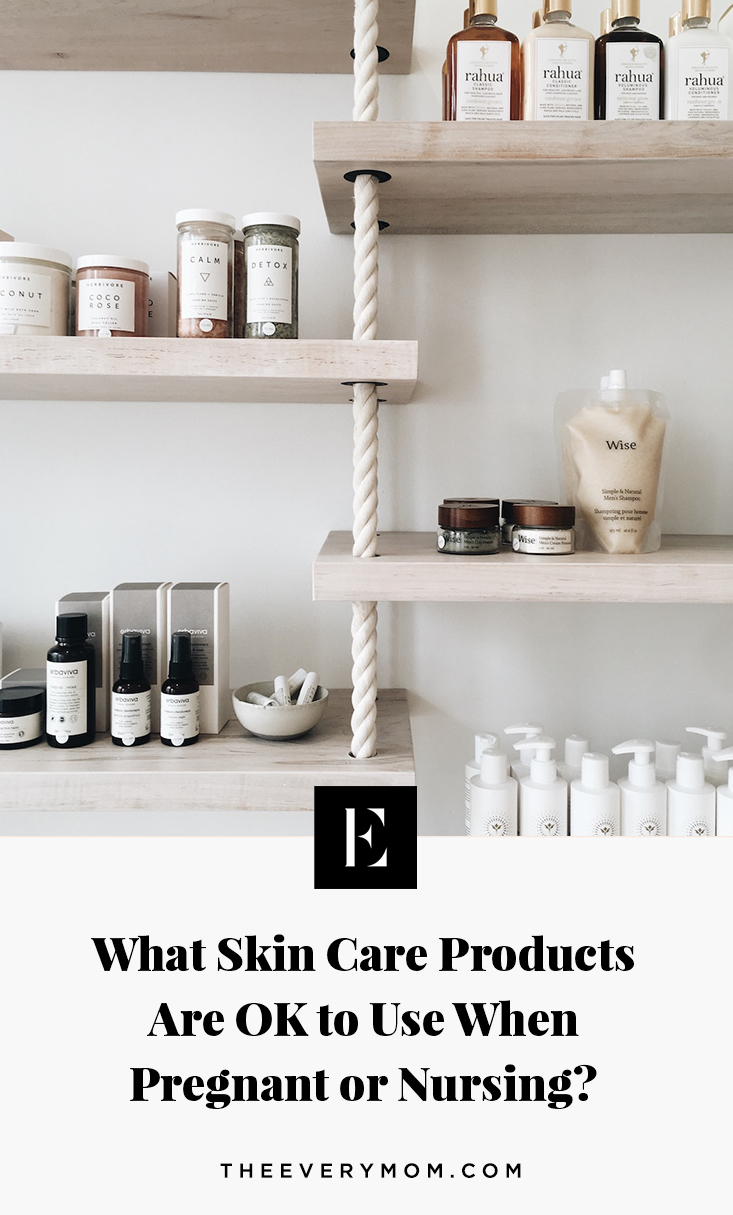 What Skin Care Products Are Ok To Use When Pregnant The Everymom