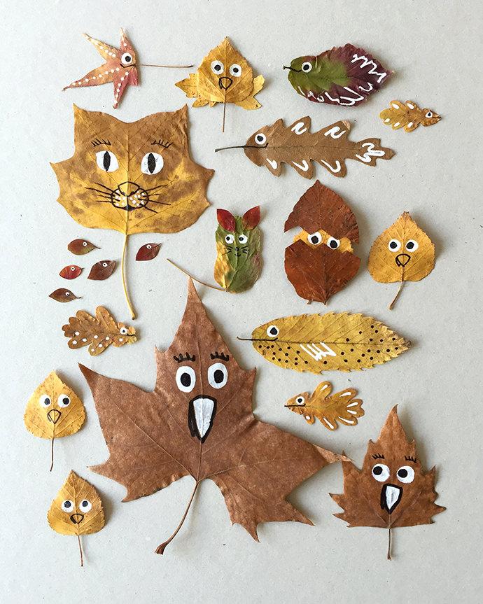 Voorkeur 9x herfst-knutselen met kinderen - Libelle #FC79