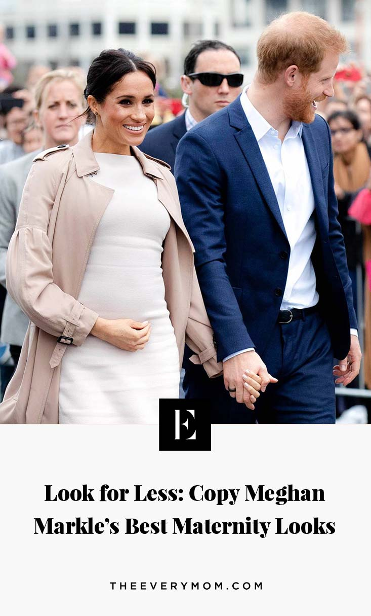 da40a814f32d Look for Less  Copy Meghan Markle s Best Maternity Looks